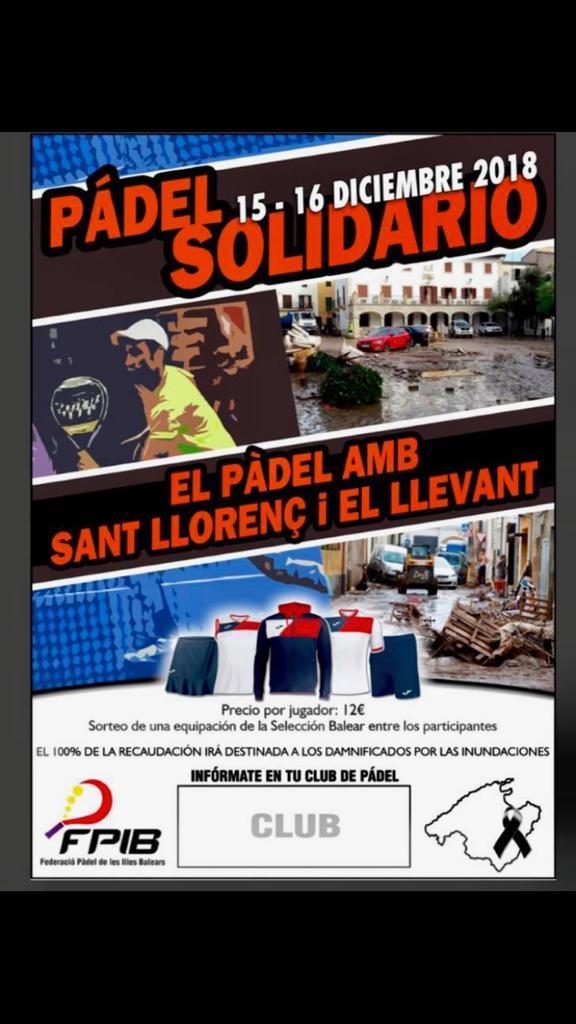 15 /12/18: Pàdel solidari