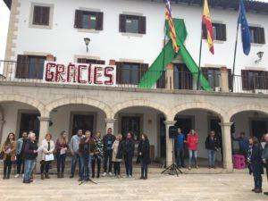 Sant Llorenç recorda les víctimes i afectats un mes després de la torrentada