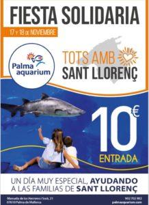 17 i 18 novembre: Festa solidaria , Aquarium