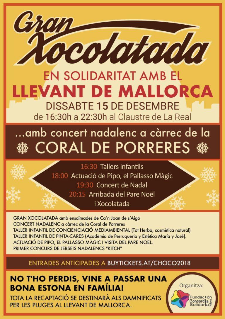 15/12/2018: Gran Xocolatada, Porreres